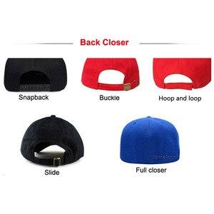 Image 4 - Zefit benutzerdefinierte kappe snap strap auf back headwear flache krempe custom design 3D logo kleine auftrag freies verschiffen kunden baseball hut