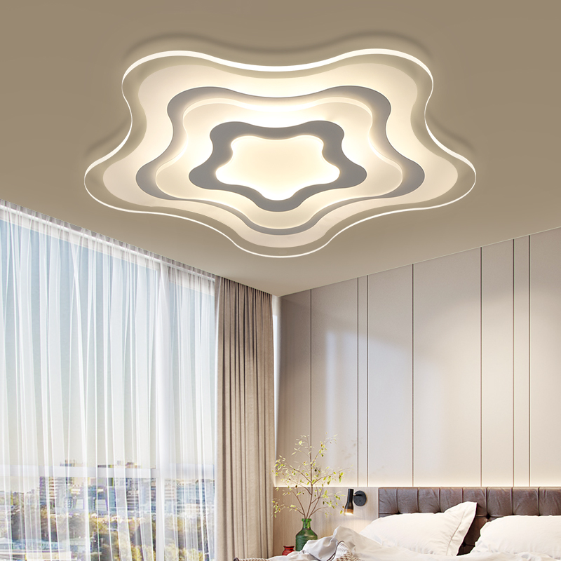 Ultra-thin Yaxing shape LED chandelier learning lamp children's bedroom modern LED ceiling lamp chandeliers new products