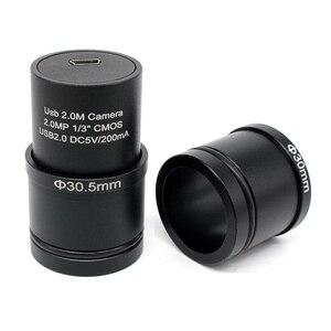 Image 5 - 2.0MP USB CMOS กล้อง Electron อุตสาหกรรมกล้องดิจิตอลฟรีไดร์เวอร์ซอฟต์แวร์การวัดแหวนอะแดปเตอร์สำหรับจับภาพ