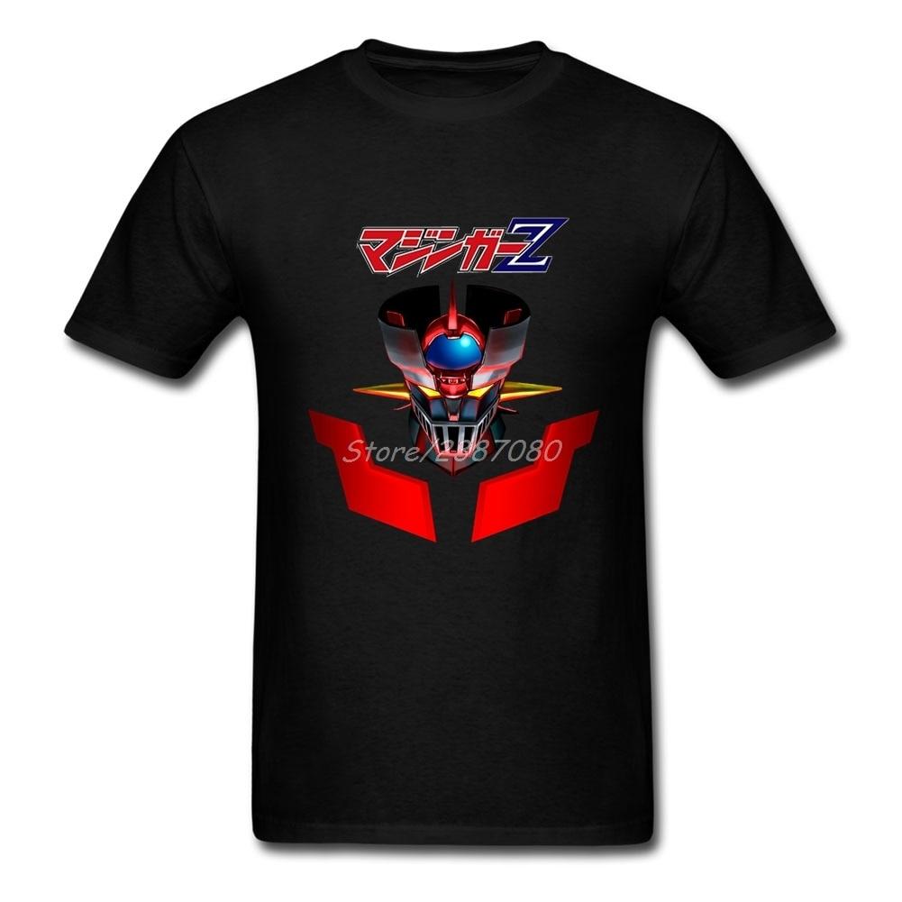 Mazinger Z T Shirt Cotton Short Sleeve Custom  Clothes Summer Camiseta Masculina Plus Size T Shirts
