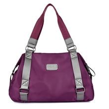 2017 new Fashion casual bag light waterproof nylon bag Big women shoulder bag handbags cross-body travel Messenger bags Unisex