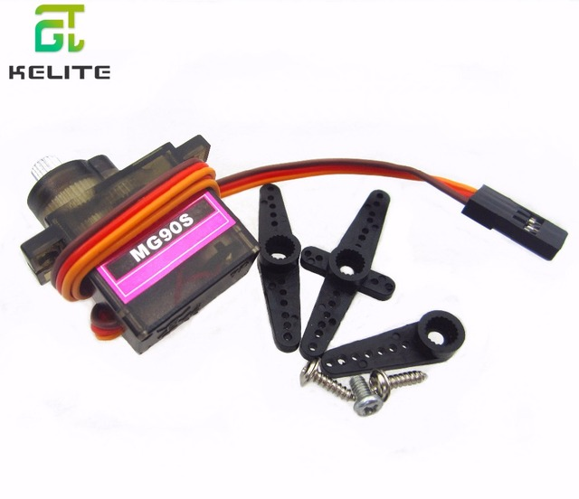 MG90S 10PCS Micro  Gear High Speed 9g Servo for RC Helicopter Plane Car Boat