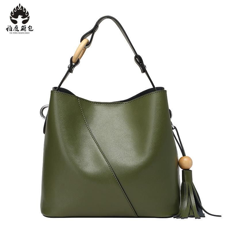 2018 New Brand Handbag Women Shoulder Bag Female Casual Large Tote Bags High Quality Genuine Leather Ladies Hobo Handbag women vintage composite bag genuine leather handbag luxury brand women bag casual tote bags high quality shoulder bag new c325