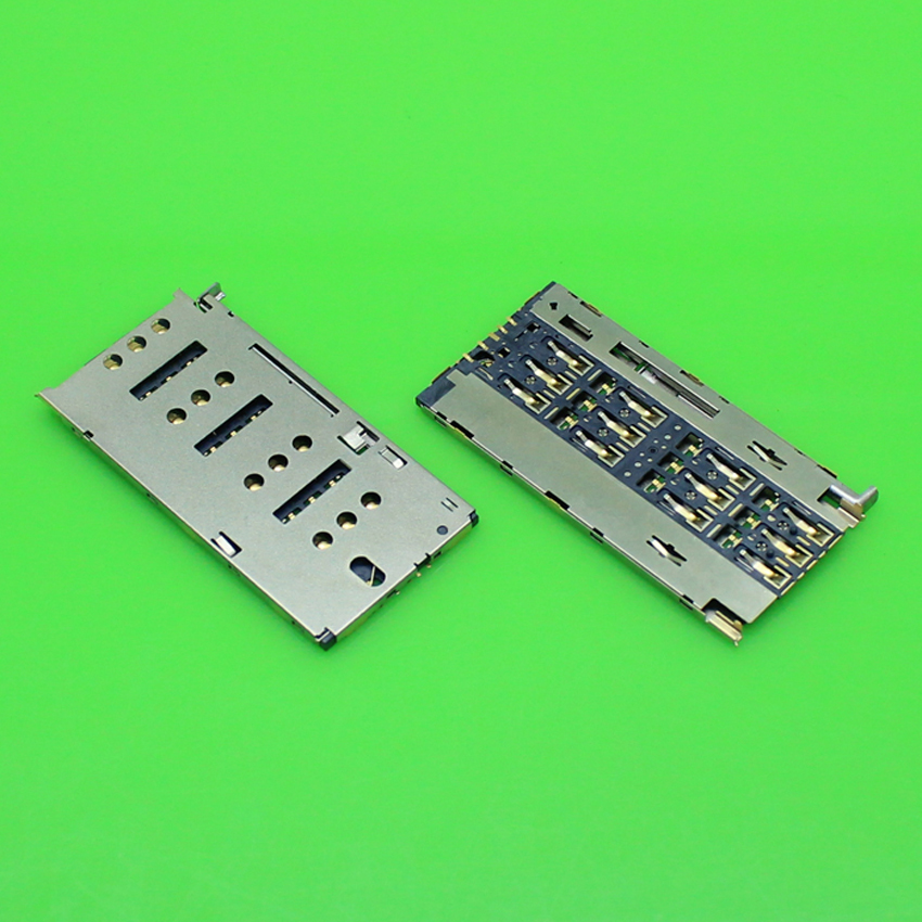 ChengHaoRan 1 Piece replacement for Gionee S7 S3 GN-9006 ELIFE S7 GN9006 4G sim card reader holder socket slot connector.KA-181