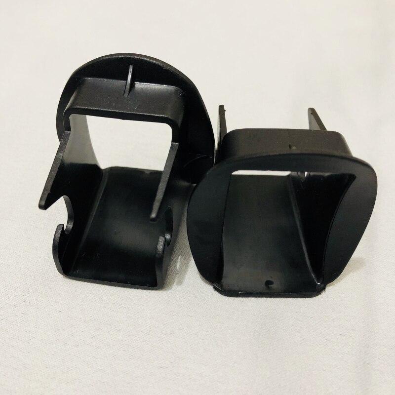 Новая направляющая защелки 2 шт.! Пассажирские автомобильные сиденья для безопасности детей, общая направляющая защелки с интерфейсом Isofix(ISOFIX), запчасти для автомобильных сидений - Цвет: 2 pieces black