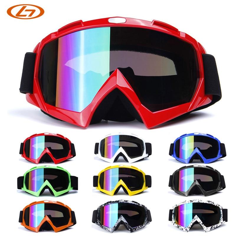 Prix pour 9 Couleurs Antipoussière Ski lunettes de Soleil Cyclisme Randonnée Sports de Plein Air Lunettes Moto Lunettes UV400 Vent Patinage Lunettes