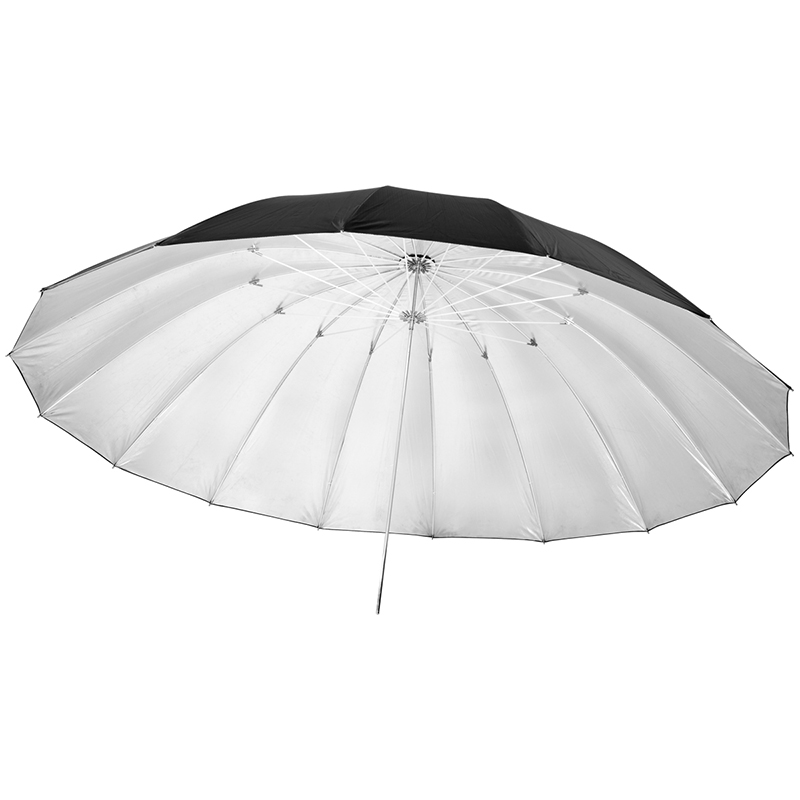 цена на JINBEI 180cm Umbrella black/white