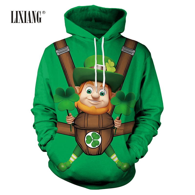 Custom Party Shop Boys St Patricks Day Hoodie Pullover