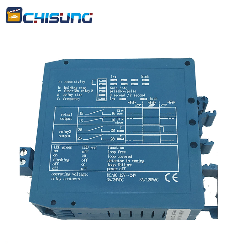 M1H Loop Detector 12-24v Low Voltage Relay Vehicle Detection Systems