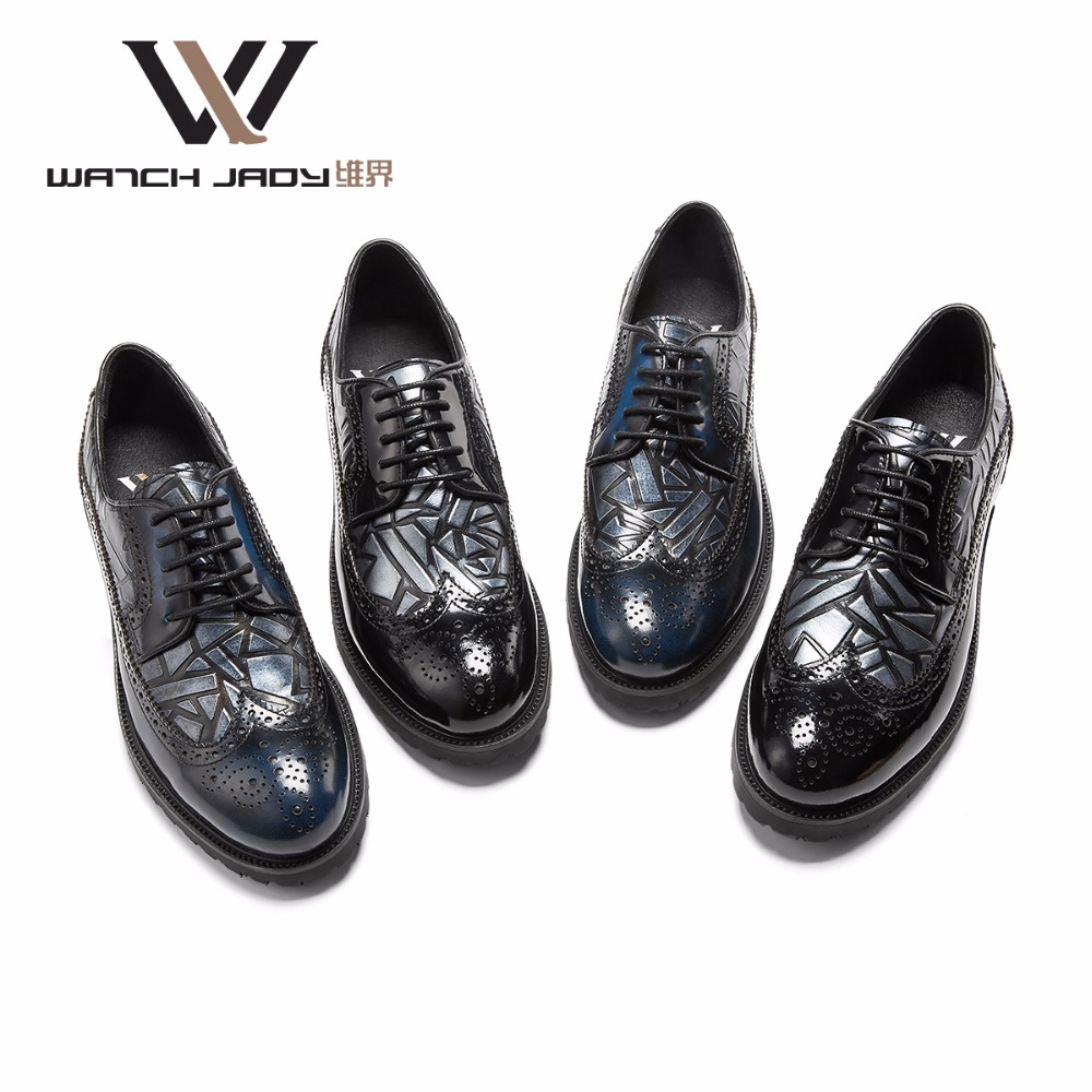 Handmade Genuine Patent Leather Brand Men Wedding Shoes Fashion Italian designer formal mens dress shoes Big Size 6 -10 2017 new fashion italian designer formal mens dress shoes embossed leather luxury wedding shoes men loafers office for male