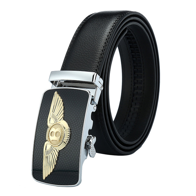 6c23488c3df4 Bentley Designers Luxury Cowhide Brand Genuine Leather Automatic Buckle  Belts for Mens High Quality Male Cowskin Ceinture Homme