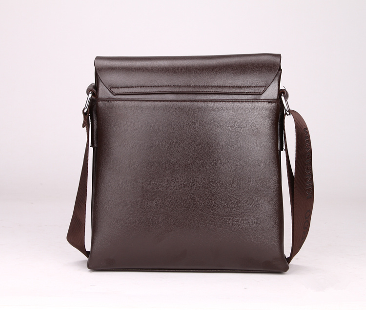 2bad1e3cae 2016 new man vertical leather bag men messenger commercial men's briefcase  designer handbags high quality shoulder bags-in Crossbody Bags from Luggage  ...
