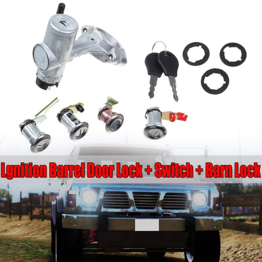 Ignition Bararel Lock Switch +Keys For Nissan Patrol GQ Y60 2 Door Barn 1988-1998Ignition Bararel Lock Switch +Keys For Nissan Patrol GQ Y60 2 Door Barn 1988-1998
