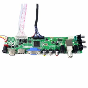 Image 4 - HD MI VGA AV USB ATV DTV LCD Controller Board  work for 18.4inch 1920x1080 2 CCFL backlight 30PIN LVDS panel LTN184HT03 N184H4