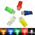 1 Pc Auto Car Cores T10 194 168 1-LED Côncavo LED Wedge Base de dados de Painel LEVOU Luz Lâmpadas # J-3167