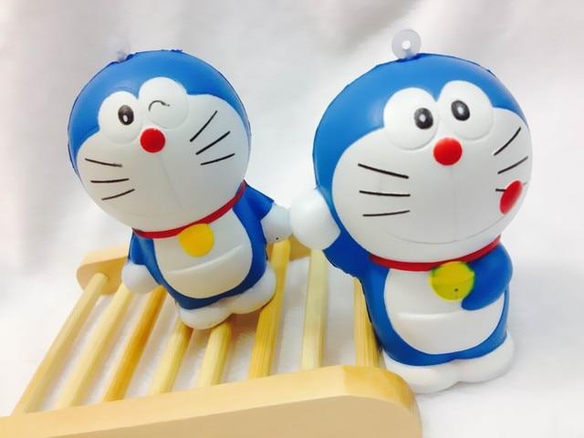 Doraemon Dorayaki Squishy : 20pcs/Lot New Japan Cartoon 3 Styles Doraemon Doll Squishy Charm/Key Chain Toy For Girl-in ...