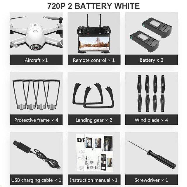 720P 2 Battery White