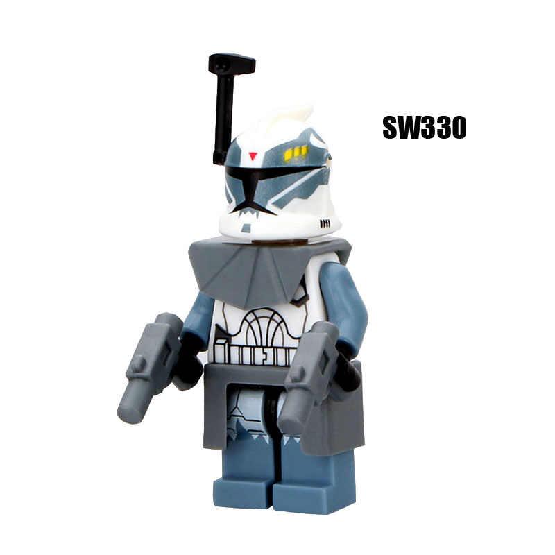 Singola Vendita Super Heroes star Wars commander 330 wolffe Building Blocks Figura Giocattoli Dei Mattoni per bambini regali Compatibile Legoed Ninjaed