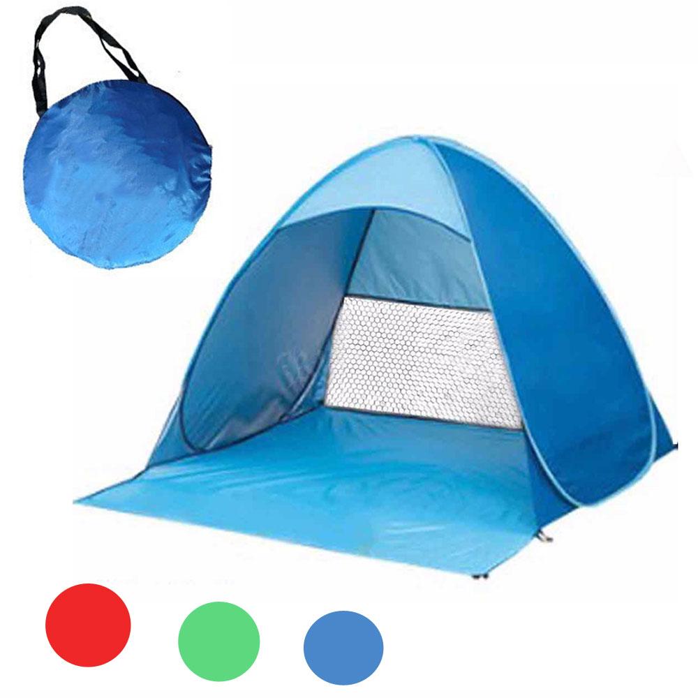 Najnowszy Beach Pop Up Open Camping Namiot wędkowanie piesze wycieczki Outdoor automatyczne Instant