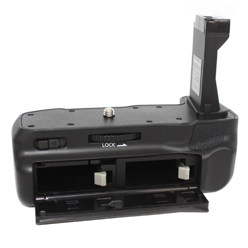 New Professional Double Battery <font><b>Grip</b></font> Holder Pack Support Vertical Shooting for CANON EOS800D T7i X9i <font><b>77D</b></font> DOM668 image