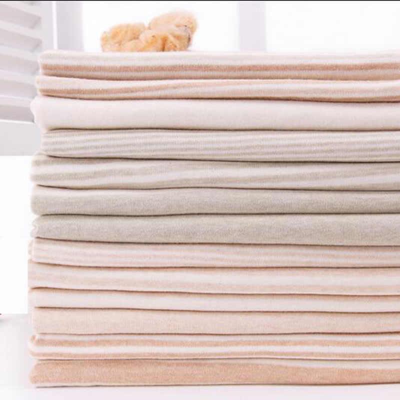 9f8b75f52f1 160*50cm1pc Good Quality Cotton Knitted Fabric 100% Organic Cotton Fabric  Knit Telas Patchwork
