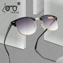 Мужские солнцезащитные очки для близорукости, женские очки, серые градиентные линзы, очки для мужчин, оправа для очков, защита от уф400-0,50-1,0-4,5-5,0