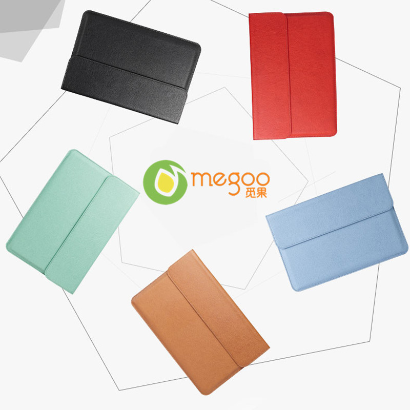 Megoo Leather Case Sleeve Cover For Macbook Air 11.6/Xiaomi Air 12.5/Huawei MateBook E/Microsoft Surface Pro 4/New Surface Pro megoo surface book 13 5 leather case sleeve cover pu ultra thin for microsoft surface book 13 5 for macbook air 13 3