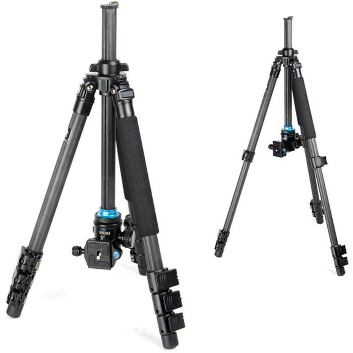 US $175 59 |High Quality BK 472 pro Carbon Fiber Tripod Camera Tripod with  Ball Head Free shipping -in Tripods from Consumer Electronics on