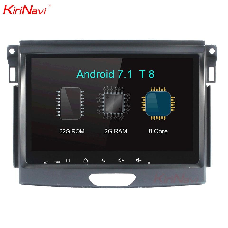 KiriNavi 9 Octa Core Android 7 1 Car DVD For Ford Everest font b Multimedia b