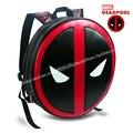 2016 Criativo Computador Notebook Sacos Mochilas Mochila Masculina Super Herói Deadpool Homens Bagpack para presente de aniversário