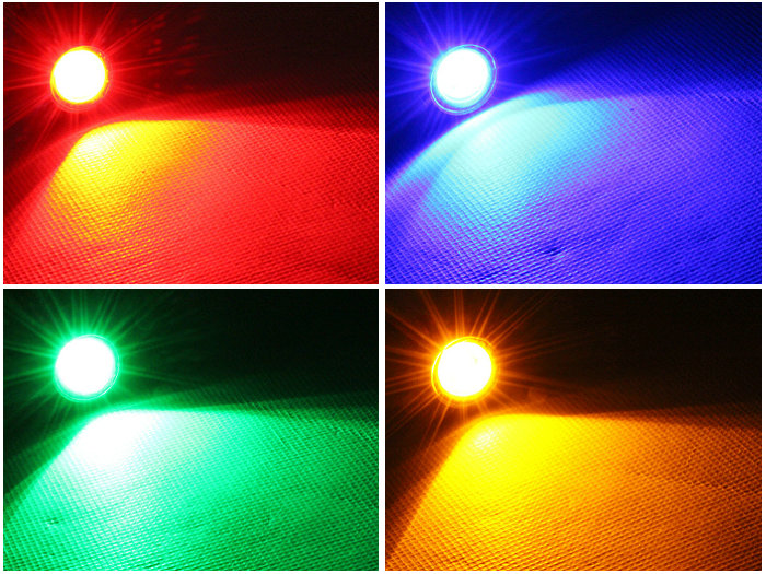 Superb High Power U0026 Factory Sale 6w Led Eagle Eye Hid Lights 5 Colors Available  Drl Led Running Light For Cars Atv Truck Reverse Light In Car Light  Assembly From ...