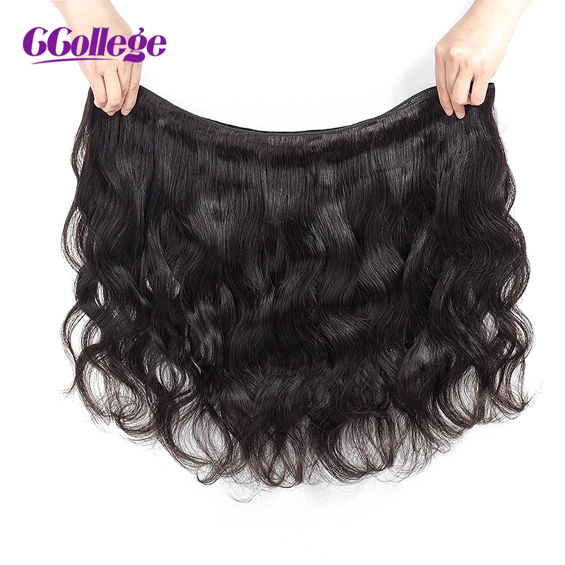 Κομπόν μαλλιών Μαλαισιανές δέσμες - Ανθρώπινα μαλλιά (για μαύρο) - Φωτογραφία 3