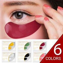 патчи для глаз Крем для макияжа soonpure 12 шт. = 6 пар 24 к Золотая маска для глаз уход за лицом патчи под глаза коллаген безколлагеновые Антивозрас...