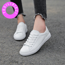 TESILIXIEZI Women Casual Shoes 2018 Summer New White Canvas Female Walking Fashion Sneakers Zapatillas Deportivas