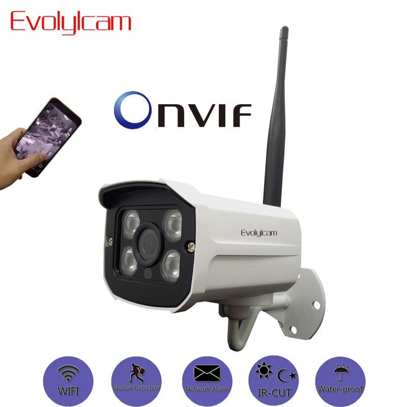 Evolylcam HD 1MP 720P / 960P 1.3MP / 1080P 2-мегапиксельная беспроводная IP-камера Wi-Fi Сеть охранной сигнализации Onvif P2P Металлическая система видеонаблюдения ИК-наблюдение
