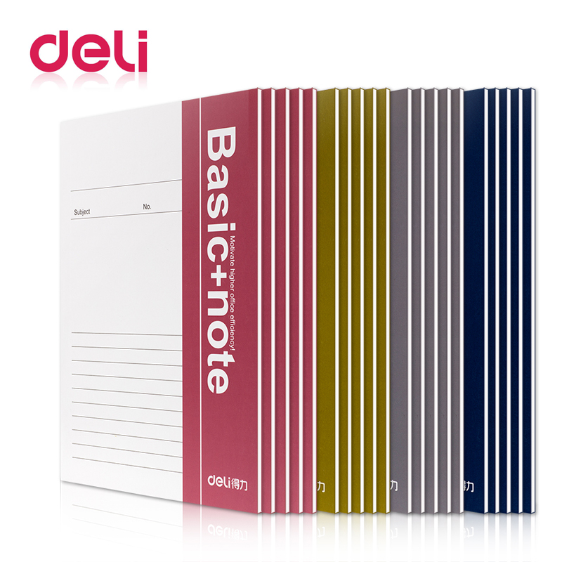 Deli 1pcs A5 soft surface notebook 38 pages diary exercise book student Stationery office supplies wholesale 7983