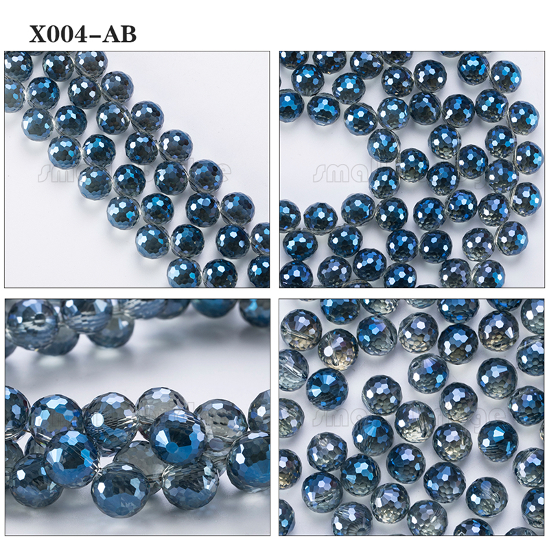 Large Crystal Beads (5)