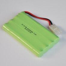 1-2 шт. Ni-MH 9,6 В AA Аккумуляторная батарея 2400 мАч AA ячейки для вертолета на радиоуправлении игрушки светодио дный свет беспроводной телефон TG plug