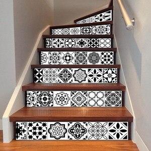 Image 3 - Autocollants de sol descalier de maison