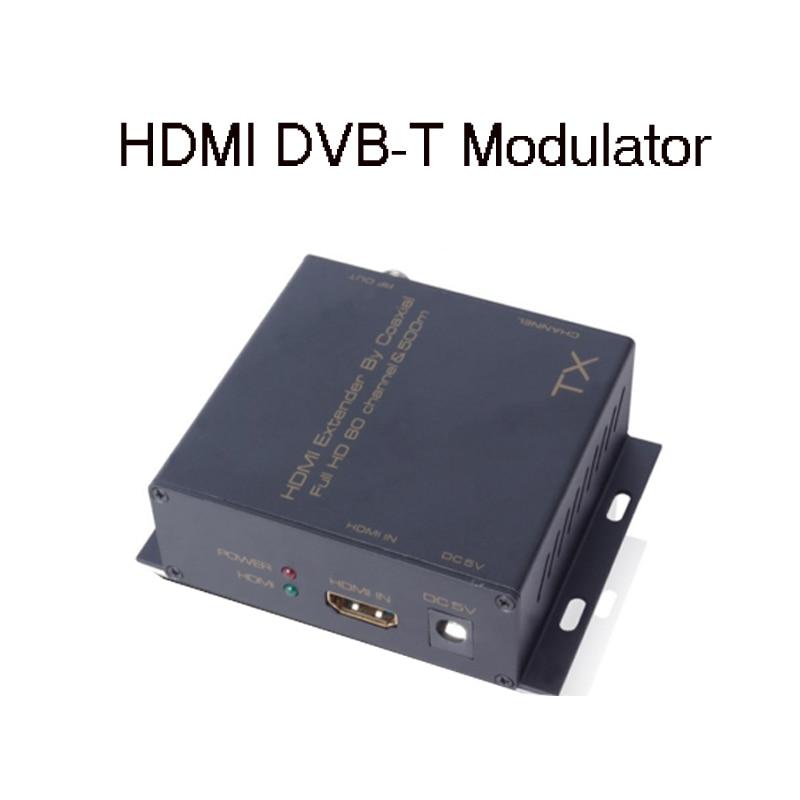 Modulateur satlink hdmi modulateur tx rf modulateur satlink ws6990 convertisseur de signal d'extension numérique HDMI DVB-T/dvb-t2 modulateur hd 1080 p