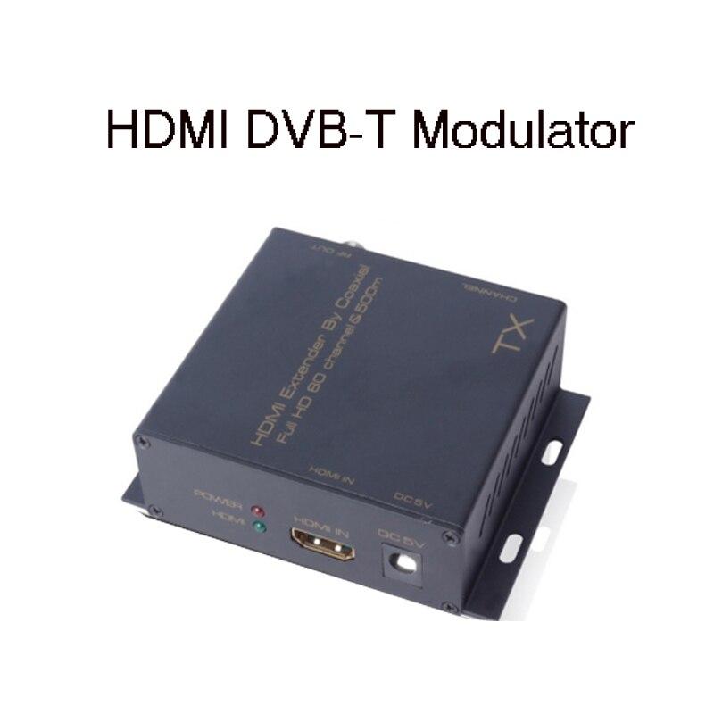 Satlink модулятор HDMI tx РЧ модулятор vs satlink ws6990 конвертировать удлинитель сигнала Цифровой HDMI DVB-T/DVB-T2 1080 P HD-модулятор