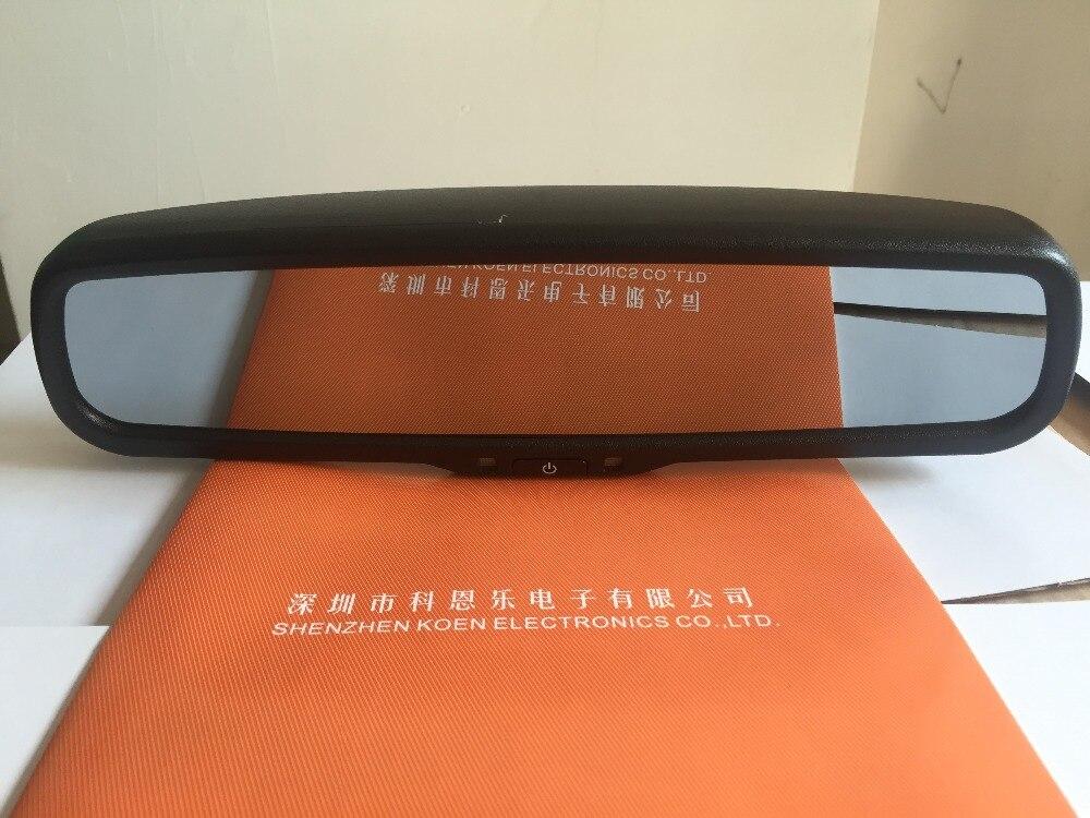 """KOENBANG 交換 4.3 """"TFT Lcd 車の背面図ミラーモニター Bluetooth カーキット駐車支援 2 RCA ビデオ入力  グループ上の 自動車 &バイク からの 車 モニター の中 3"""