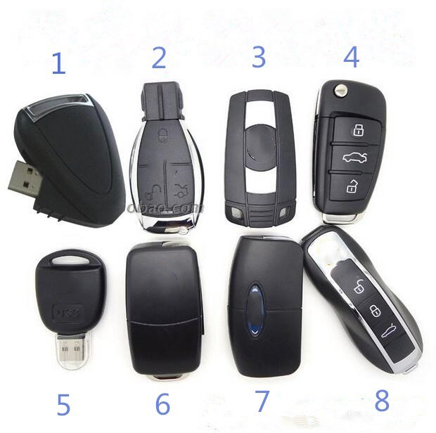 Eight styles 128G Car Key usb flash drive pen drive 64G 32G 16G usb flash drive memory stick pen drive usb flash card disk key stmagic real capacity beer cup usb 2 0 4g 8g 16g pen drive 32g memory creative usb flash drive gift usb stick