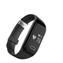 DTNO. Я H3 Смарт-Браслет Браслет Монитор Сердечного ритма Bluetooth 4.0 Шагомер Спорт Фитнес-Трекер Smartband Для IOS Android