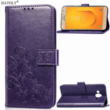 Phone Case For Samsung Galaxy J7 Duo Cover Flip Case For Samsung Galaxy J7 Duo Case Silicone Leather Wallet Case Funda J7 Duo все цены