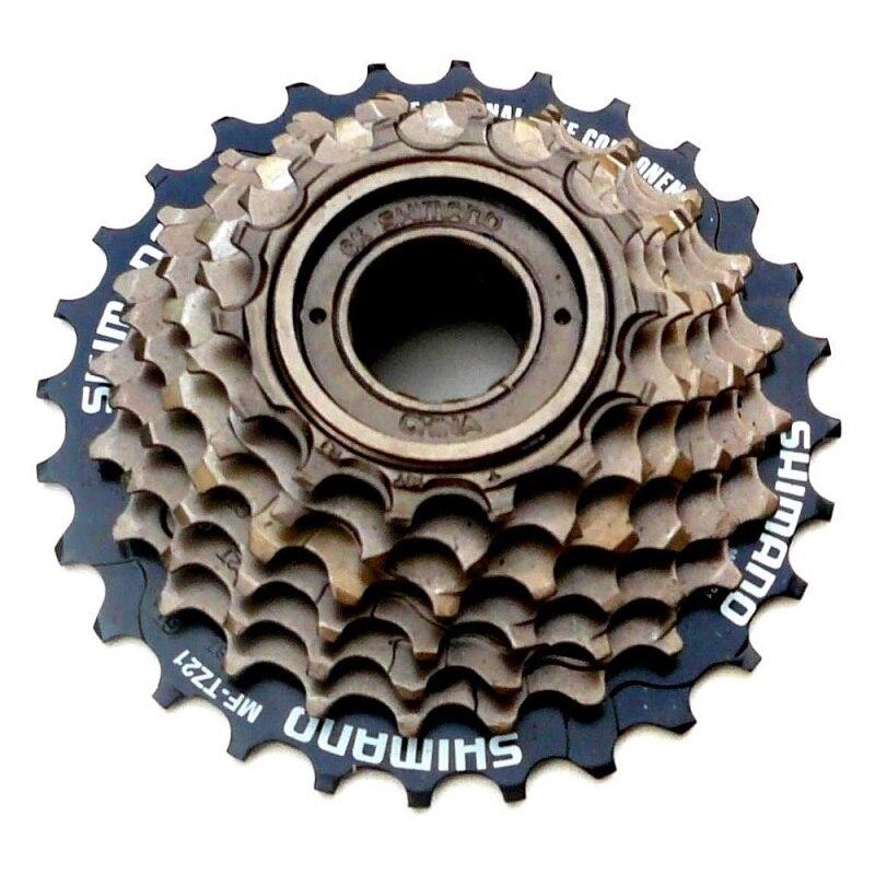 Para shimano MF-TZ21 7 14 Cassete Velocidade Roda Livre-28 T para MTB Ciclismo de Estrada Da Bicicleta 7-Cassete Velocidade acessórios Para bicicletas