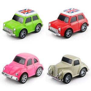 Image 3 - Mini voiture en alliage moulé sous pression, modèle de voiture pour garçons, Collection de voiture, petit véhicule, piste de course, Simulation de cadeau