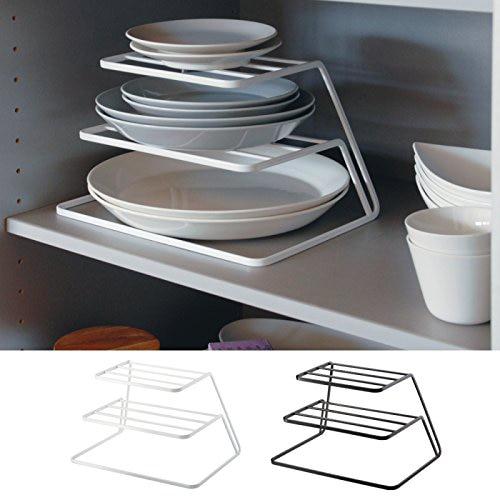 04262:  Top Cabinet Layered kitchen Dish Rack Iron Drain Rack 3-layer Plate Rack Dish Storage Shelf Kitchen Storage Accessories 04262 - Martin's & Co