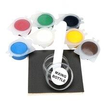 7 colori Composto In Vinile In Pelle Kit di Riparazione Seggiolino Auto Divano Cappotto Danni Zona di Riparazione per la Miscelazione di Auto Cura di Manutenzione Auto strumenti