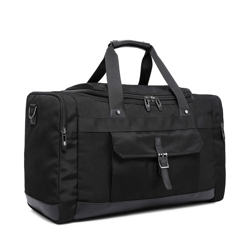 2017 Men Women Travel Bags Luggage Messenger Duffle Black Hand Shoulder Bag Waterproof Weekend Purse Business